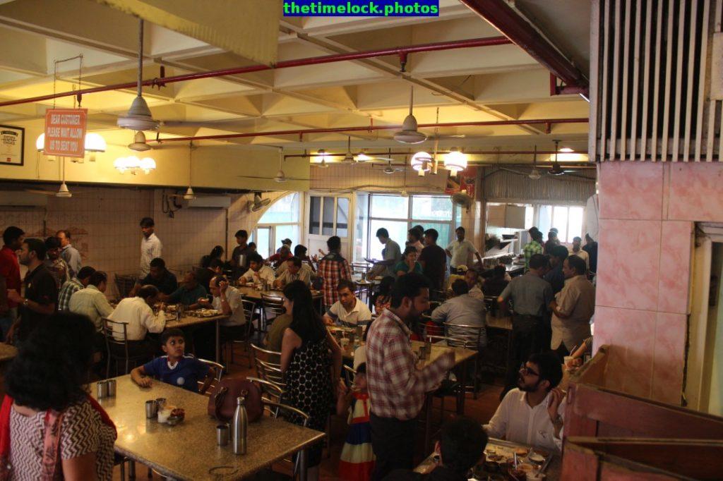 dining hall at andhra bhavan