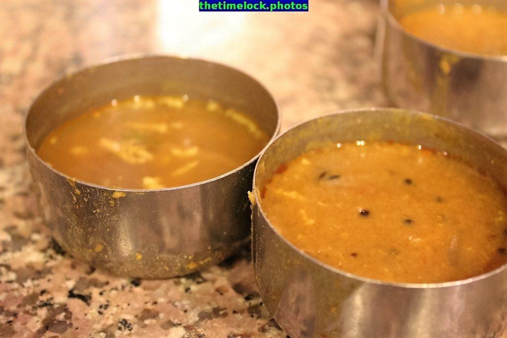 rasam and sambar