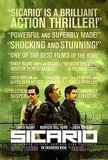 Movie Poster of Sicario