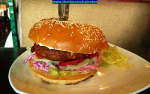 juicy lucy burger at ambience mall gurugram