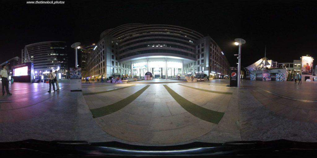 360 degree photo of DLF Cyberhub